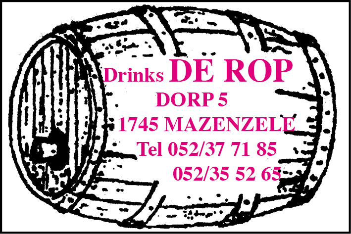 Drinks De Rop